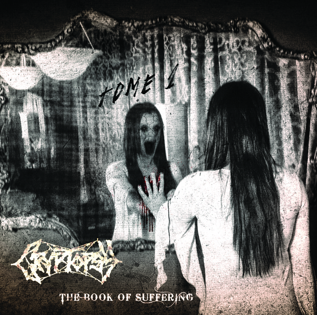 "Cryptopsy crowd funding EP "" The Book of Suffering"""