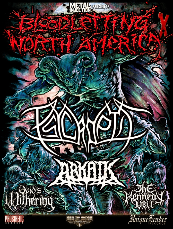 Psycroptic North American tour!