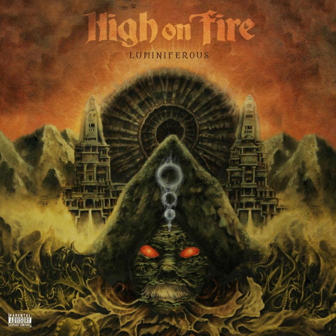 New music today from  High on Fire Luminiferous CHECK IT OUT @highonfireband