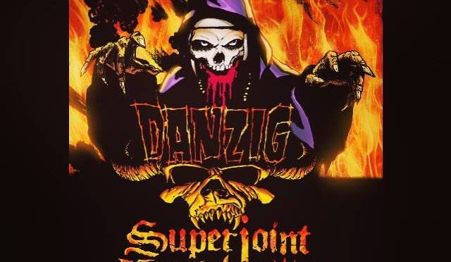 "Danzig's "" Blackest of the Black"" Tour annouced with direct support from Superjoint, and Prong"