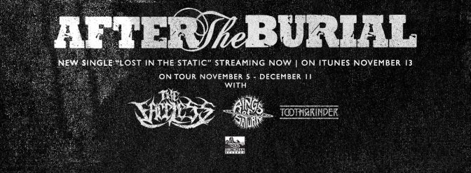 "After The Burial premier new Single ""Lost In The Static"""