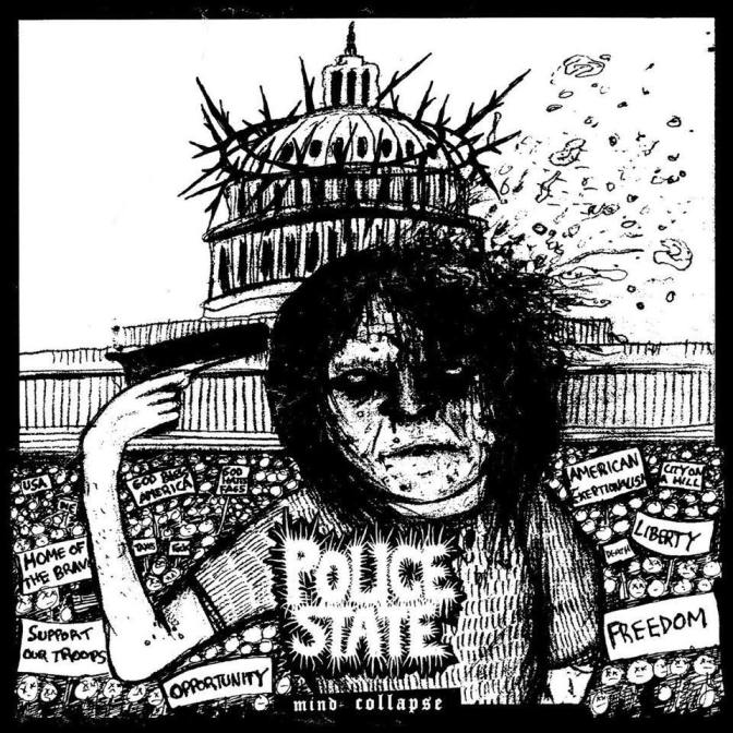 Police State -Mind Collapse album review 6/10