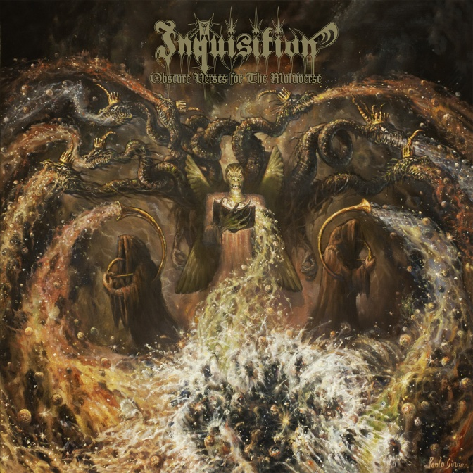 Inquisition is in the studio and beging to record their 2016 release.
