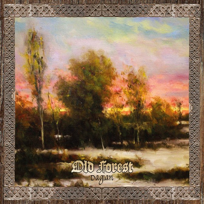 "Currently streaming U.K. Black Metallers Old Forest's latest release ""Dagian"""