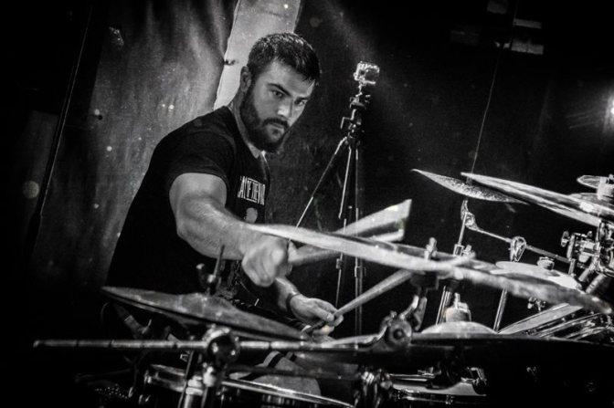 The Disciplined Drummers of metal for March 2016 is the heavy hitting Adam Jarvis