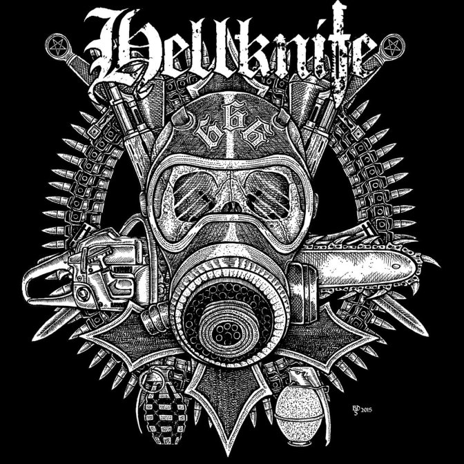 Currently Streaming the Self titled Debut E.P. by German Crust band Hellknife