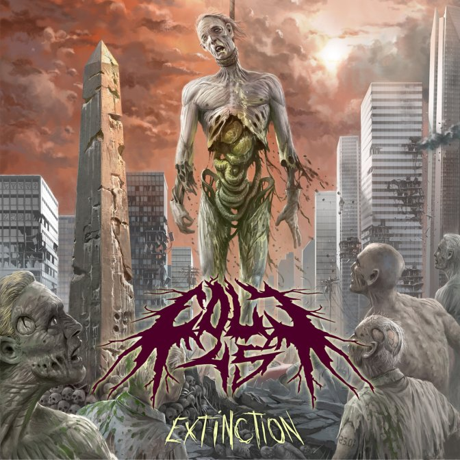 "Currently listening to Colt 45's latest release ""Extinction"""