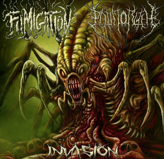 "Fumigation / The Path To R'lyeh ""INVASION"" split review 9.1/10 \m/"